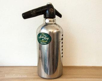 Soda King Seltzer bottle