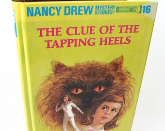 Tablet Device Cover Nancy Drew Clue of the Tapping Heels Book Case for Nook Kobo Kindle Book Lover Gift