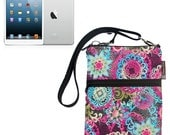 iPad Mini Bag / iPad Mini Case / iPad Mini Cover / iPad Mini Sleeve / TRAVEL BAG  - - Fast Shipping Mimosa Fabric