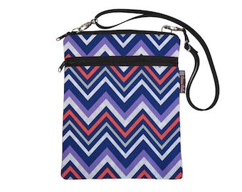 iPad bag Netbook Bag iPad Case iPad Sleeve iPad Cover Ipad 4 3 2 1 / Tablet TRAVEL BAG / adjustable shoulder strap /  Chevron Stripes
