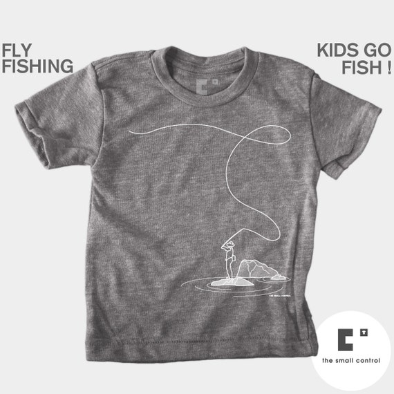 Boys Clothes Fly Fishing Boys Fishing TShirt Baby Boy