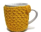 Crochet Coffee Cup Cozy Teacher Gift Cup Cozy