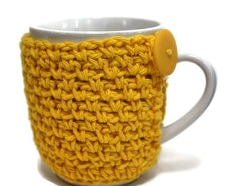 Crochet Coffee Cup Cozy Teacher Gift Cup Cozy