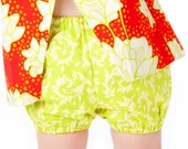Easy Bloomers Pattern - GIrls Clothing Pattern - Ruffled or Simple - 2T, 3T, 4T, 5, 6
