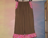 Brown and pink bloomers