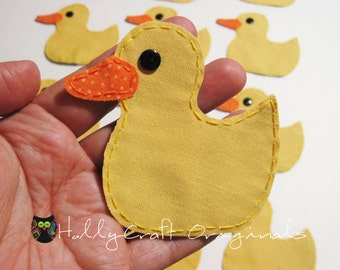 Rubber Duck Applique, Rubber Ducky, Rubber Duck Patch, Duck, Yellow Duck, Duckling, Made to Order