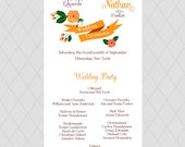 Flower Wedding Programs