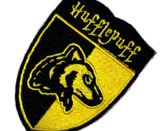 Hufflepuff Patch interpreted from Magic, Witchcraft and Wizardry - Ready to Ship
