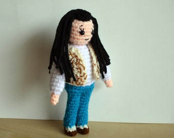 Crochet Amigurumi Sarah from Labyrinth Pattern