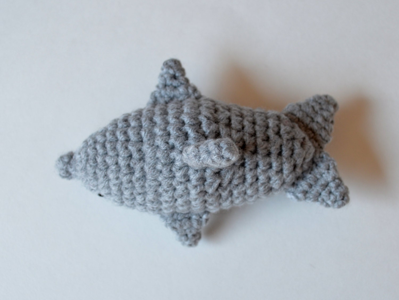 Amigurumi Dolphin Pattern : Dolphin Amigurumi Crochet Pattern by PopsDeMilk on Etsy