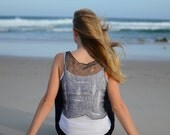 Castaway Tank Top KNITTING PATTERN PDF by Christine Jones