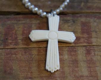 Vintage old cross pendant