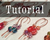 TUTORIAL: Copper Earrings & Production Techniques (Wire-Wrapped Earring Instructions)