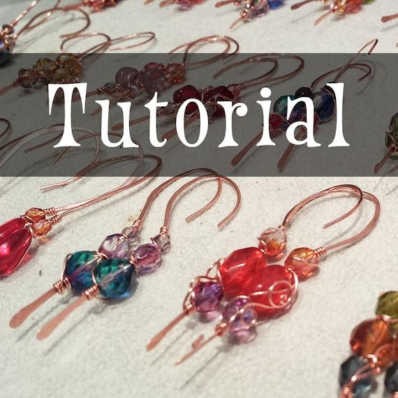 TUTORIAL: Copper Earrings & Production Techniques