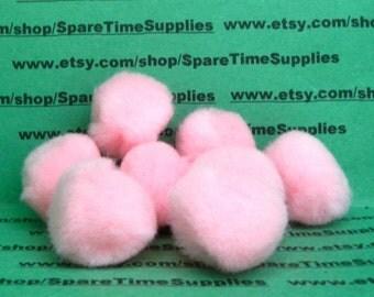 """Fibre Craft - 1575-16 Pom Pom - pink - 1"""" (25mm) - 24 pcs"""