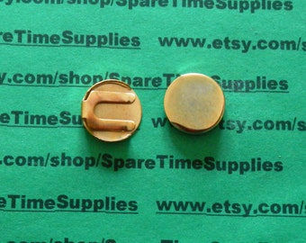 Fibre Craft - 3915-61 Button Covers - 17mm - gold plated - 2 pcs
