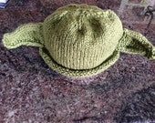 RTS Yoda Hat 6-12 month Star Wars Halloween