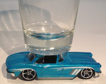 The ORIGINAL Hot Shot Shot Glass, '62 Chevy Corvette, Hot Wheel