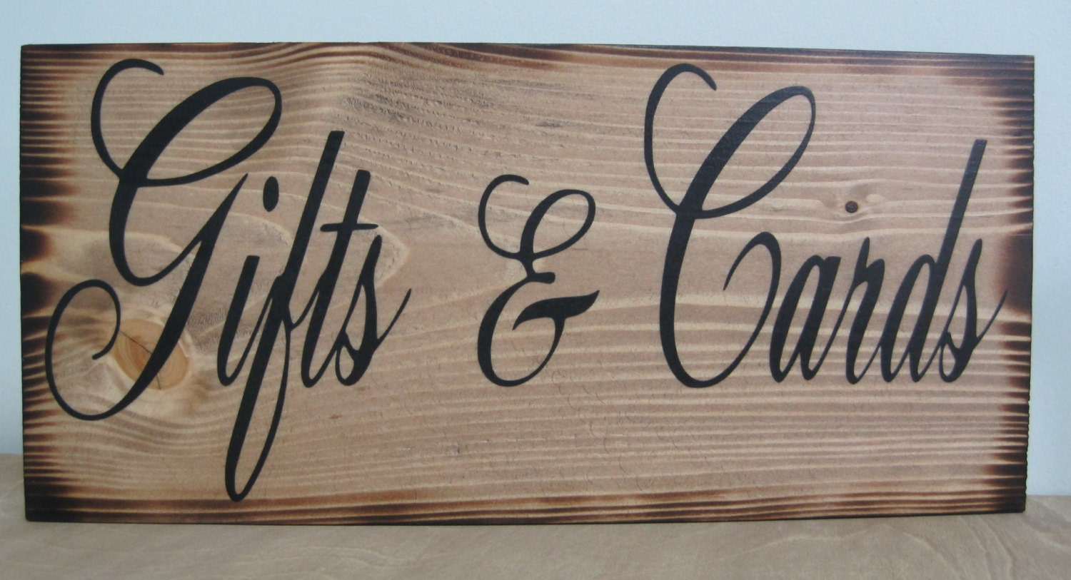 Wedding Gift Signs: Rustic Wedding Sign Gifts & Cards Reception Gift Table Guest