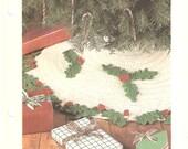 Christmas Tree Skirt - PDF - Crochet Pattern