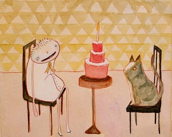 the Cake - PRINT