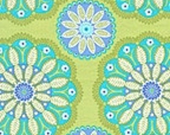 Michael Miller 1 yard-Kaleidoscope in Kiwi-DC4612- More available-BTY