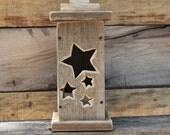 Wood Star Lantern