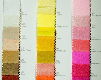 Spandex Milliskin Stretch Plain choice of color 58/60 inches sold by the yard