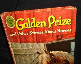 1965 Golden Prize Horse Book