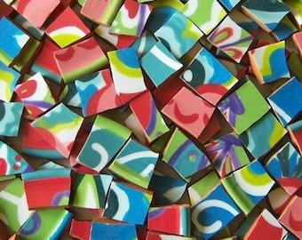 Mosaic Tiles--Fiesta Talavera--100 Tiles