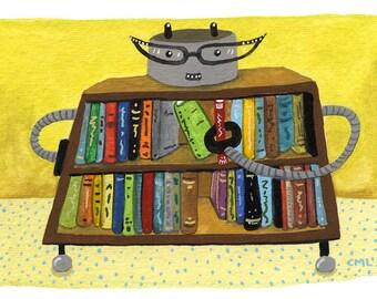 Librarian (Book) Robot
