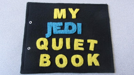 Star Wars inspired Quiet Book (PATTERN)