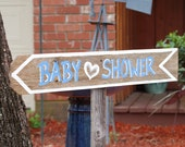 Baby Shower Decorations Sign Its a Boy Its a Girl, CUSTOM Wording, Cute shower Ideas, Outdoor Party Decorations, Trueconnection Rustic Sign