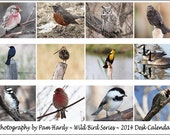 2014 - Wild Bird Series - Jewel Case Desk Calendar - Reserved for Tapestry316