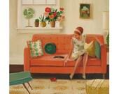 Great Ladybug.  Art Print