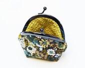 Liberty floral cotton coin purse