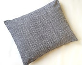 The Perfect Toddler Pillow ... Original Design by Sew Cinnamon ... Black White Pencil Static Lines Stripes on Smooth Cotton