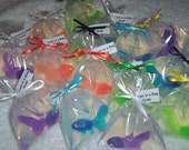 Fish in a Bag soap 1  party favor size  Carnival, Wedding, Birthday, Baby Shower, Pool party,