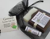 Guinness Gift Set - Beer Soap & Lip Balm - Perfect Beer Lover Gift for Parties, Birthdays and Groomsmen and St. Patrick's Day Gifts