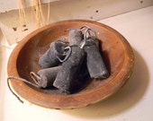 Custom Order for Felicia-  Do Not Purchase Blackened Beeswax Grubby Nubby Candle Bowl fillers , by Penny Crane