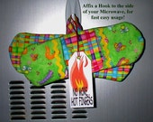 HOT FINGER MITTS Mini Set of Two Kool Gift Oven Microwave Protectrion