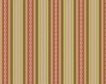SALE Nantucket Summer Brown Stripe