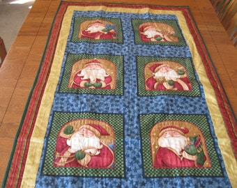 Twas The Night Before Christmas Quilted Wall Hanging or Table Topper designed by Nancy Halvorsen