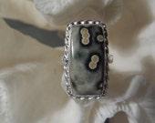 Ocean Jasper Ring Size 9