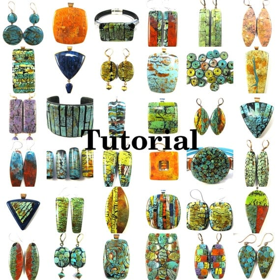 NEW Polymer Clay Tutorial Digital PDF Instant Download - Masterful Faux Made Easy
