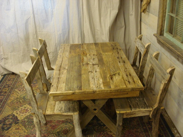 Dining room table driftwood 48 x 36 x 30 or for Dining room table 36 x 48
