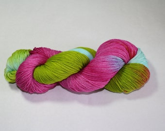 Party Dress Hand Dyed Sock Yarn