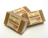 Maple Pecan Pie Limited Edition Fall Mini GUEST BAR Goat's Milk Soap Handmade SLS Detergent Free