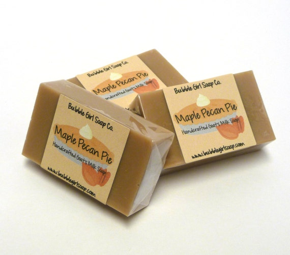 Maple Pecan Pie Limited Edition Fall Mini GUEST BAR Goat's Milk Soap ...
