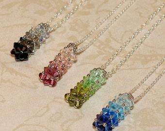 Beading Tutorial Video: Color Gradation Necklace